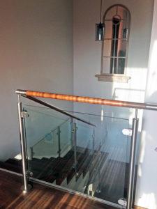 Borostyán apartmanház lépcsőház