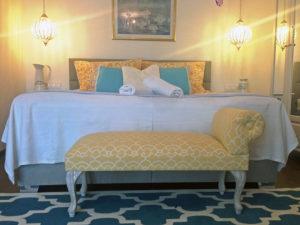 Borostyán apartmanok Tündérrózsa szoba