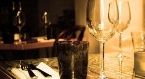 Borostyán apartman romantikus vacsora